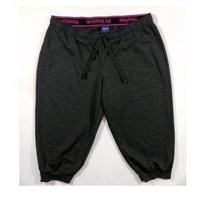 Women's Capri Workout Leggings Sweats Size L